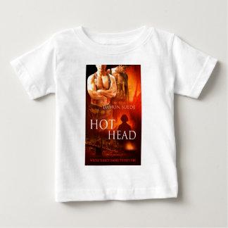 熱い頭部 ベビーTシャツ