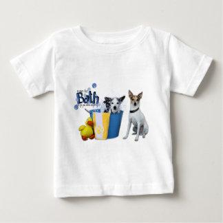 熱い風呂-ラットテリア ベビーTシャツ