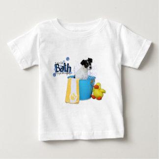 熱い風呂-ラットテリア- Rosco ベビーTシャツ