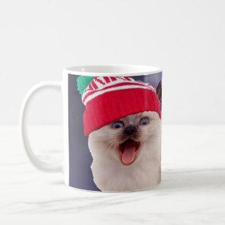 熱いsaucin kat コーヒーマグカップ