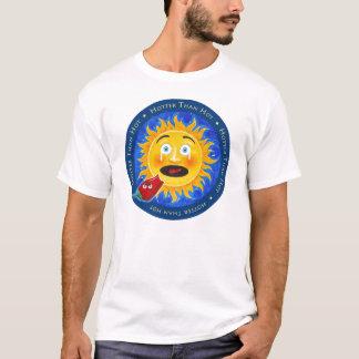 熱いTシャツより震えて下さい Tシャツ