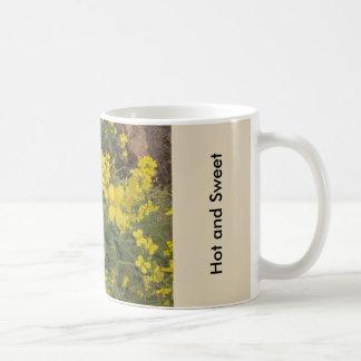 熱くおよび甘いです コーヒーマグカップ