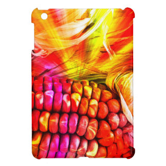 熱くストライプのなトウモロコシ iPad MINIケース