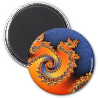 熱く冷たい三重の回転の磁石 マグネット