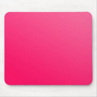 熱く明るいネオンピンクのマウスパッド マウスパッド