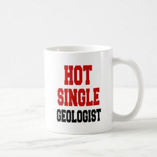 熱く独身のな地質学者 コーヒーマグカップ