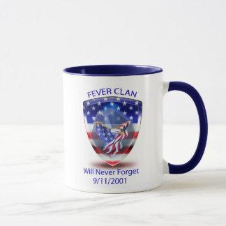 熱の一族は9/11/2001を襲います マグカップ
