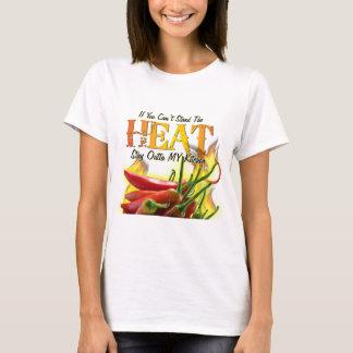 熱を立てることができなかったらOuttaを私の台所とどまって下さい Tシャツ