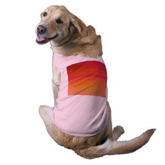 熱小犬のタンクトップ ペット服