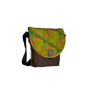 熱帯しぶきのバッグ メッセンジャーバッグ