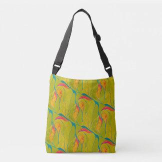 熱帯しぶきの交差体のバッグ クロスボディバッグ