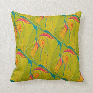 熱帯しぶきの枕 クッション