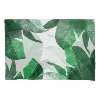 熱帯やしプリントの枕箱 枕カバー
