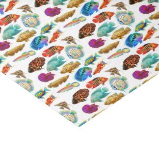 熱帯アクアリウムの魚のティッシュペーパー 薄葉紙