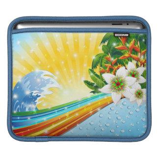 熱帯エキゾチックな夏季休暇 iPadスリーブ