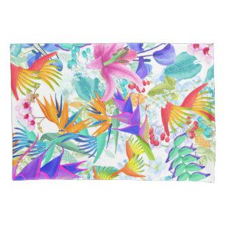 熱帯エキゾチックな花 枕カバー