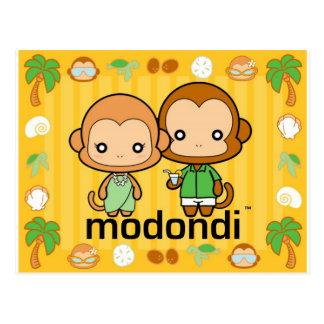 熱帯エディー及びMarie ポストカード