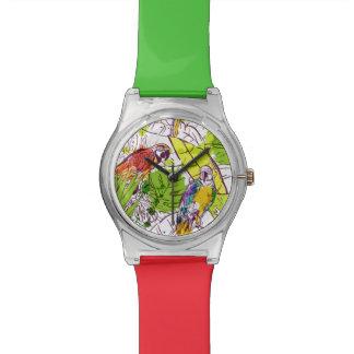 熱帯オウム 腕時計