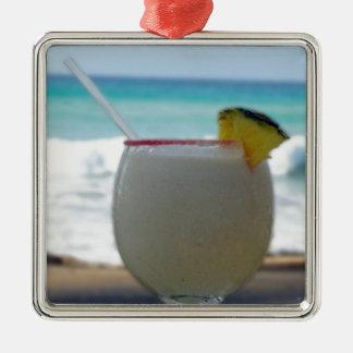 熱帯カクテル メタルオーナメント