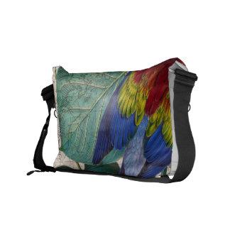熱帯コラージュ メッセンジャーバッグ