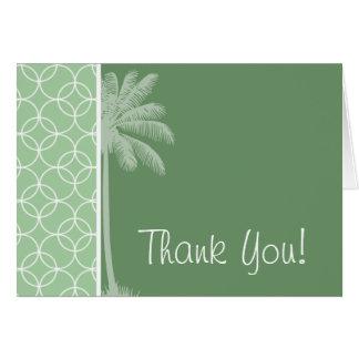 熱帯セージグリーンの円 カード