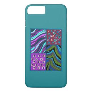 熱帯タペストリーのiPhone 7のプラスの穹窖の箱 iPhone 8 Plus/7 Plusケース