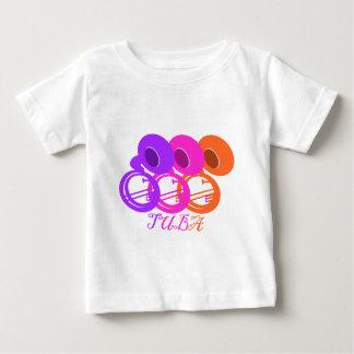 熱帯テューバ色 ベビーTシャツ