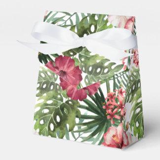熱帯ハイビスカスによっては葉の群葉パターンが開花します フェイバーボックス
