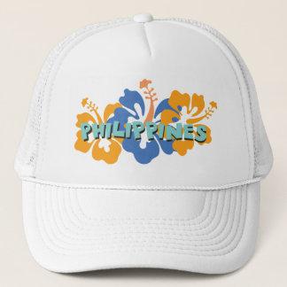 熱帯ハイビスカスの花のフィリピン キャップ