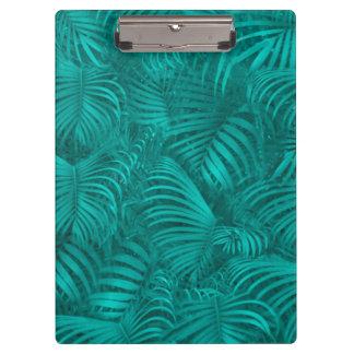熱帯ハワイパターン クリップボード