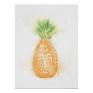 熱帯パイナップルポスター ポスター