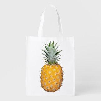熱帯パイナップル エコバッグ