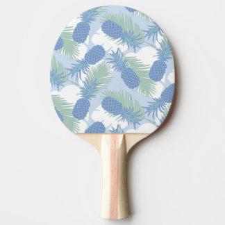 熱帯パステル調のパイナップルパターン 卓球ラケット