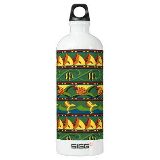 熱帯パターン ウォーターボトル