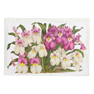 熱帯パンジー蘭によっては花の枕カバーが開花します 枕カバー