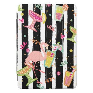 熱帯パーティーのおもしろいのフラミンゴ iPad PROカバー
