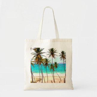 熱帯ビーチのバッグ トートバッグ