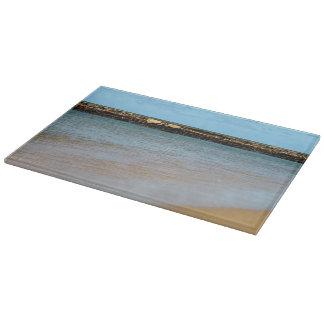 熱帯ビーチの楽園のまな板 カッティングボード