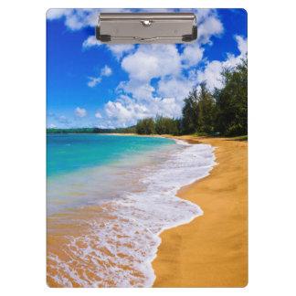 熱帯ビーチの楽園、ハワイ クリップボード