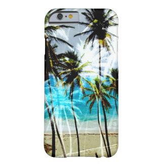 熱帯ビーチの海のカスタムのiPhone6ケース Barely There iPhone 6 ケース