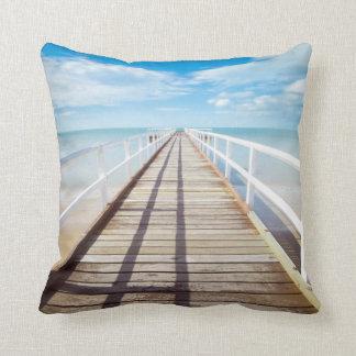 熱帯ビーチ桟橋の装飾用クッション クッション