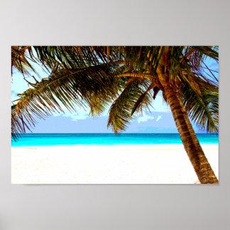 熱帯ビーチ ポスター