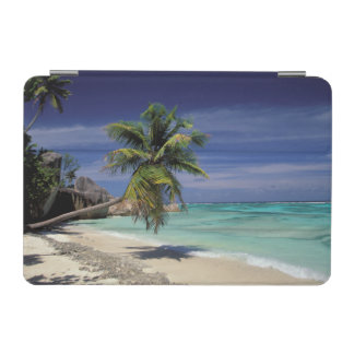 熱帯ビーチ、Anse Sourse D'ArgentのLa Digue iPad Miniカバー