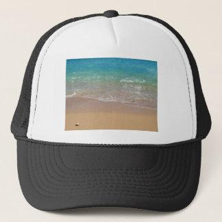 熱帯ビーチ- Waikiki、オアフ、ハワイ キャップ