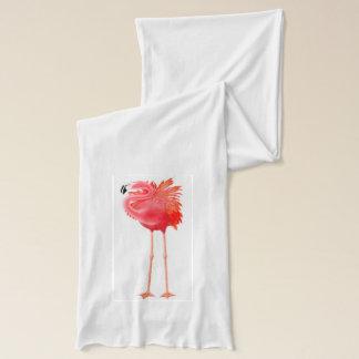 熱帯ピンクのフラミンゴのスカーフ スカーフ
