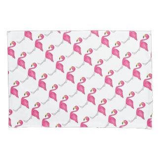 熱帯ピンクのフラミンゴのフラミンゴの鳥の枕カバー 枕カバー