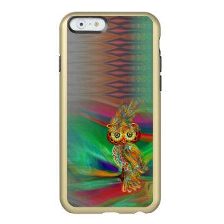 熱帯ファッションの女王のフクロウのiPhoneの場合 Incipio Feather Shine iPhone 6ケース