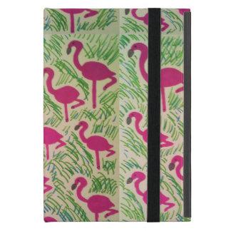 熱帯フラミンゴのタブレットカバー iPad MINI ケース