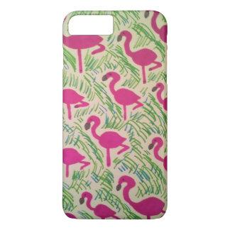 熱帯フラミンゴのiPhoneの場合 iPhone 8 Plus/7 Plusケース