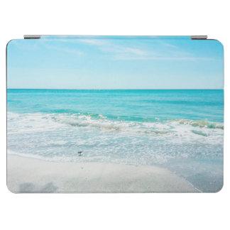 熱帯フロリダのビーチの砂の海洋波のシギ iPad AIR カバー